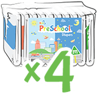 ABUniverse PreSchool Diapers