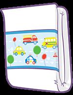 ABUniverse PreSchool Traffic Diapers