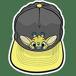 PeekABU Hats Giraffe