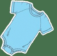 ABUniverse Active DiaperSuit Blue Stripes