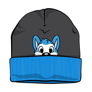 PeekABU Knitted Hats Husky