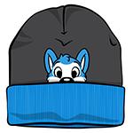 PeekABU Knitted Hat Husky