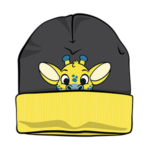 PeekABU Knitted Hats Giraffe