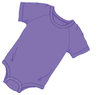 ABUniverse Coloured DiaperSuit Purple
