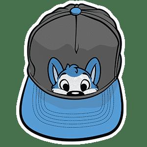 PeekABU Hats Husky