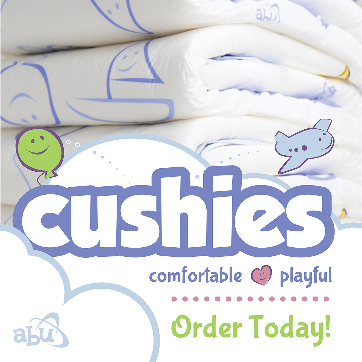 ABU Cushies Diapers